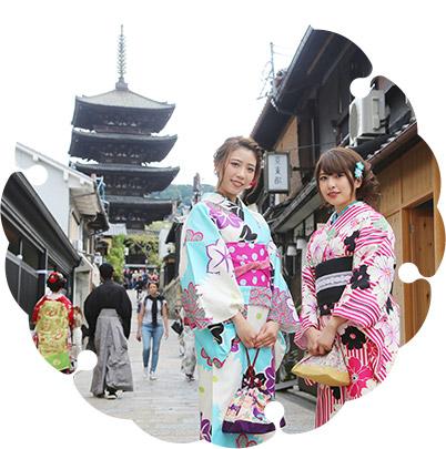 完成!京都観光へ出発