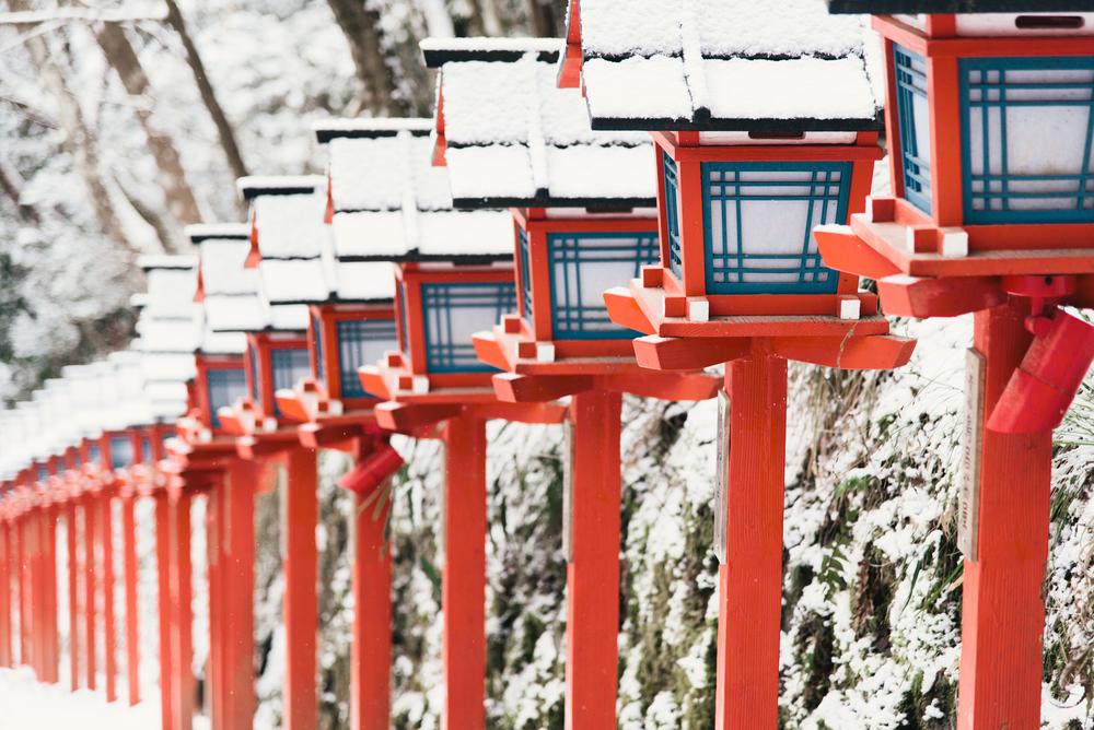 京都 冬 景色