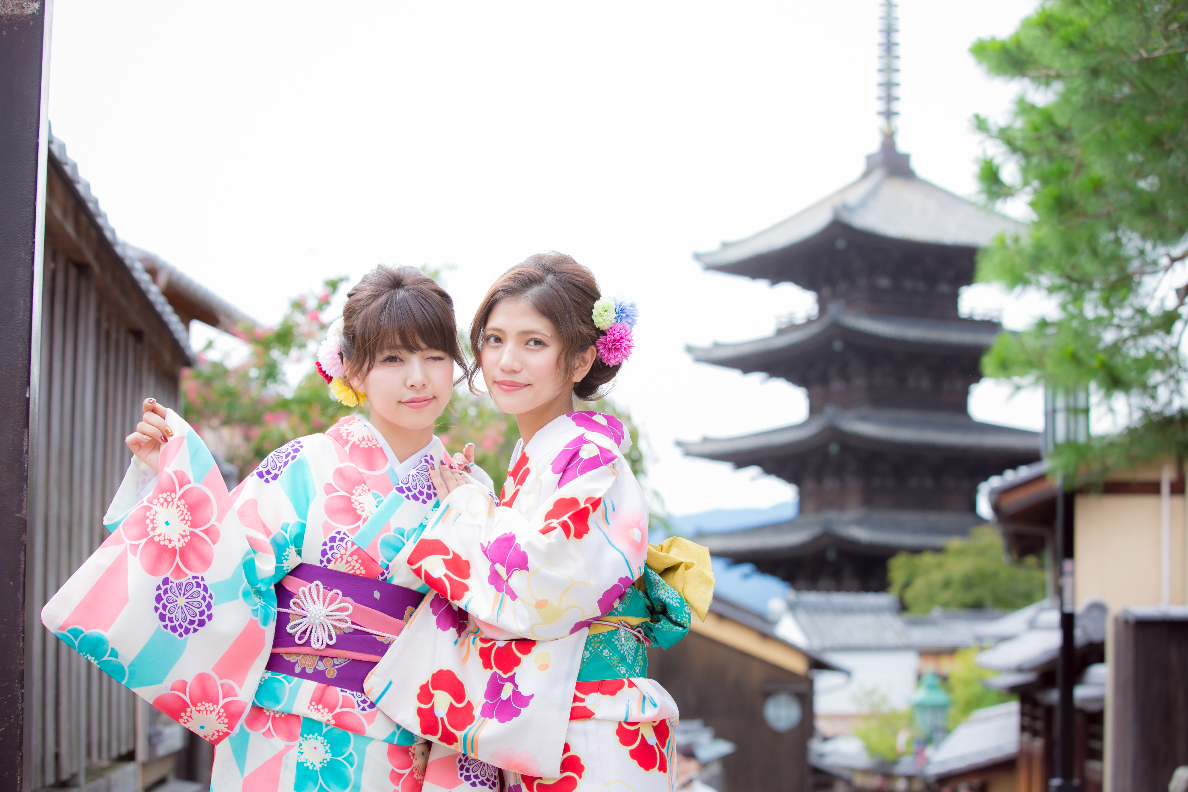 京都着物レンタルで散策