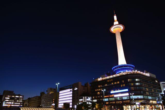 京都タワー 夜景
