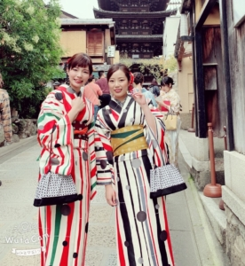 京都咲く都・着物レンタルプレミアムプランお客様写真