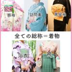 普通の着物と袴の違い|袴はボトムス、振袖や訪問着を合わせられる