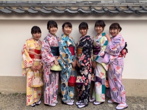 京都咲く都・着物レンタルスタンダードプランお客様写真
