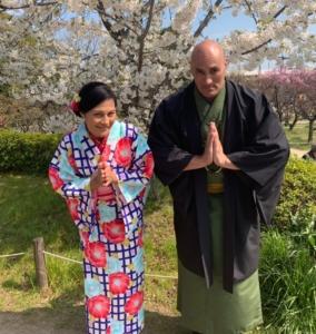 京都咲く都・着物レンタルカップル咲く都プランお客様写真