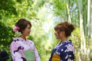 浴衣で京都観光