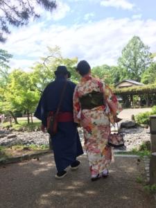 レンタル着物で京都散策