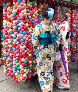 レンタル着物で八坂庚申堂へ
