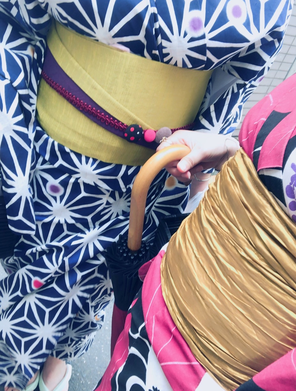 レンタル着物 咲く都スタンダードプランのお客様写真