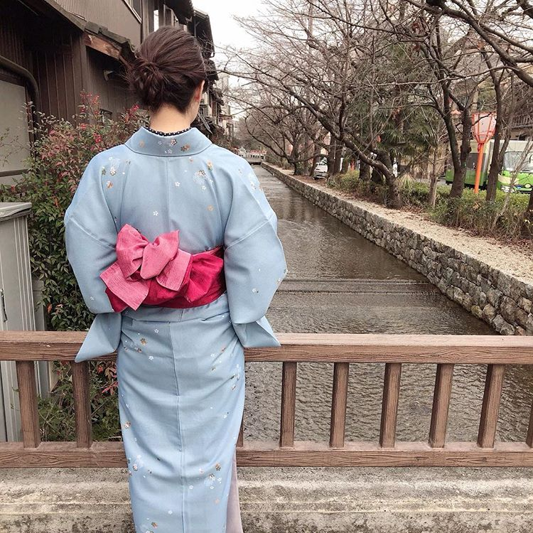 祇園白川の巽橋