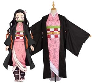 禰津子の着物姿