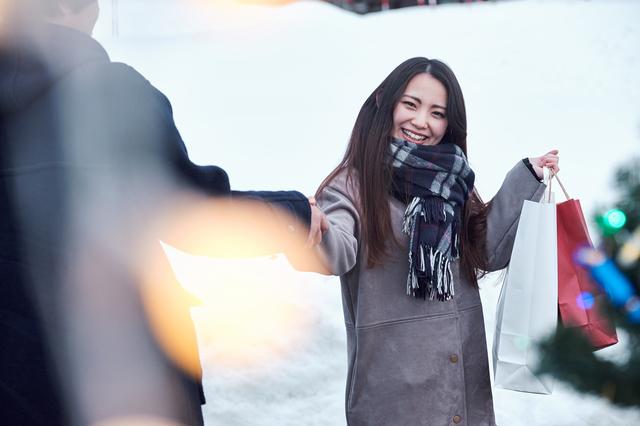 京都の冬のデートイメージ
