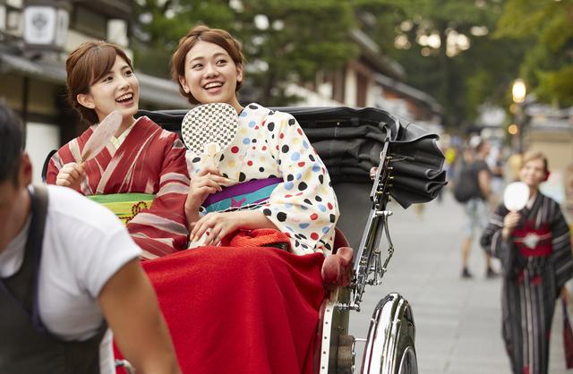 京都 着物観光女子