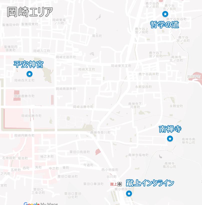 岡崎エリアの花見スポット