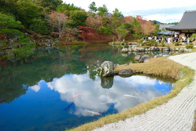 天龍寺 日本庭園