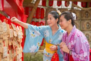 京都 女子旅 着物
